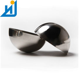 Hollow Half Sphere 304 Mirror Polished Stainless Steel 1MM Thickness